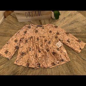 •Zara• super cute blouse